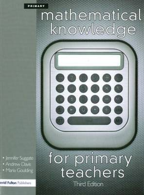 Mathematical Knowledge for Primary Teachers by Andrew Davis