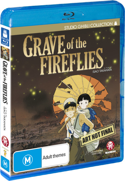 Grave of the Fireflies on Blu-ray image
