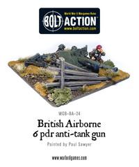 British Para 6 pdr anti-tank gun