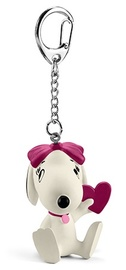 Schleich: Belle with Heart Keychain