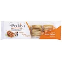 Peckish Rice Crackers - Roast Chicken 100g