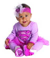 DC Comics: Supergirl Onesie - (Infant)