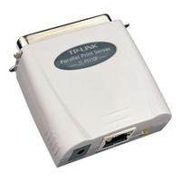 TP-Link: Single Parallel Port - Fast Ethernet Print Server