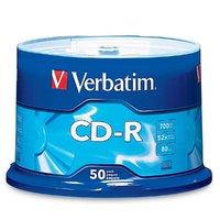 Verbatim CD-R 700MB 52x - 50 Pack
