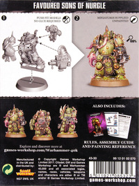 Warhammer 40,000 Easy to Build Plague Marines image