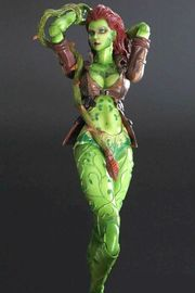 Batman Arkham City Play Arts Kai Poison Ivy Action Figure