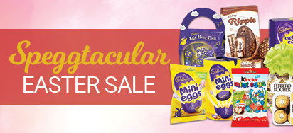 Speggtacular Easter Sale