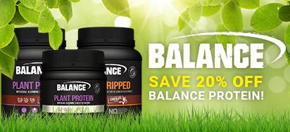 20% off Balance Nutrition