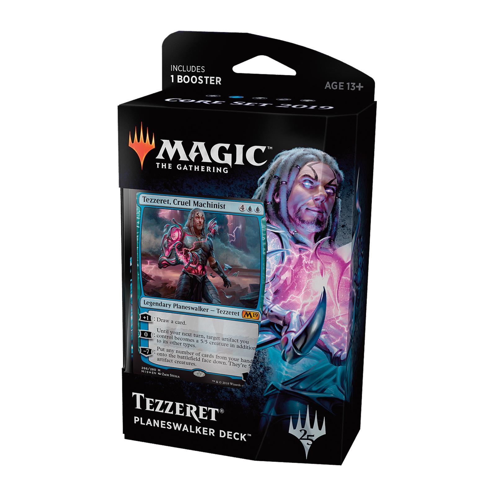 Magic The Gathering: M19 Tezzeret Planeswalker Deck image