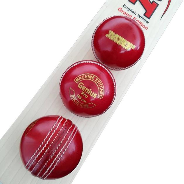 MRF Genius Pro 4Pc 156gm Red ball