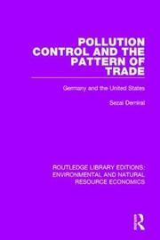 Pollution Control and the Pattern of Trade by Sezai Demiral