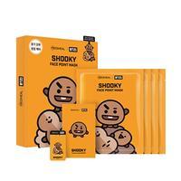 BTS BT21: Shooky Face Point Mask Set (7 Piece)