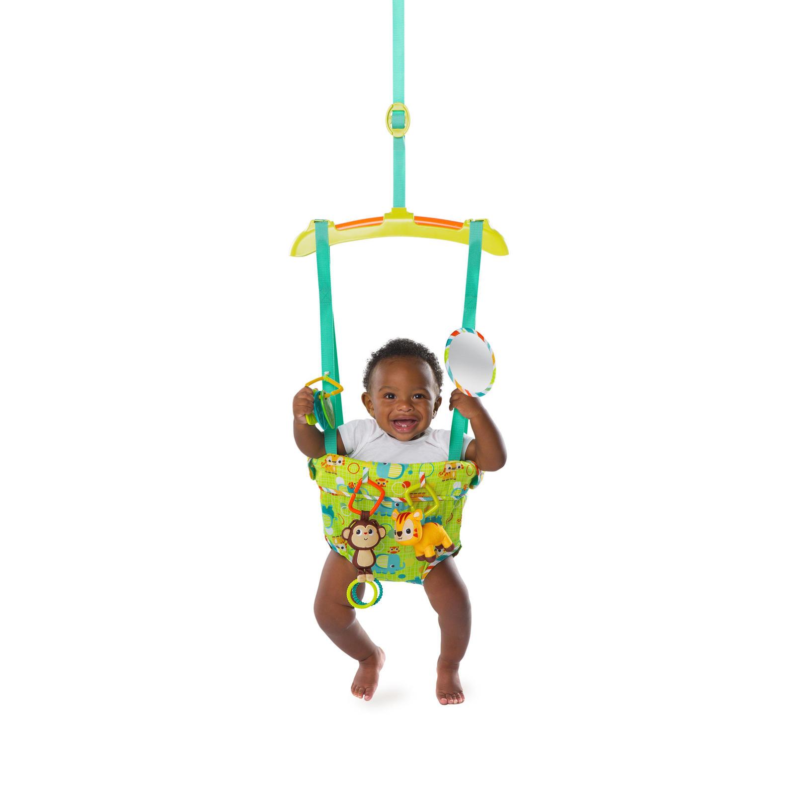 Bright Starts: Smiling Safari Deluxe Door Jumper image