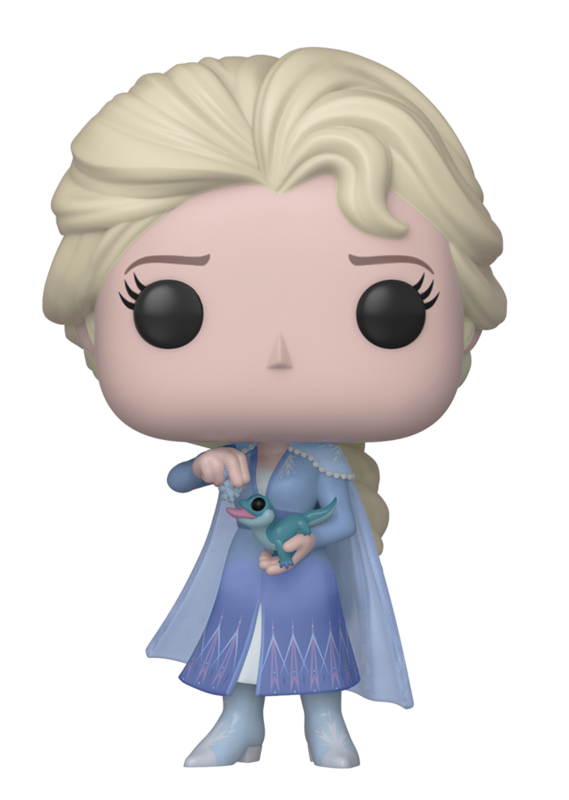 Frozen 2: Elsa (with Salamander) - Pop! Vinyl Figure