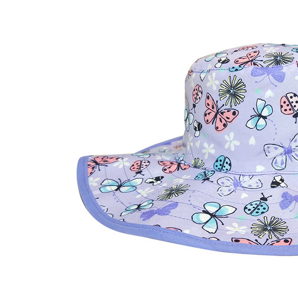 Reversible Sunhat - Butterfly (2 years) image