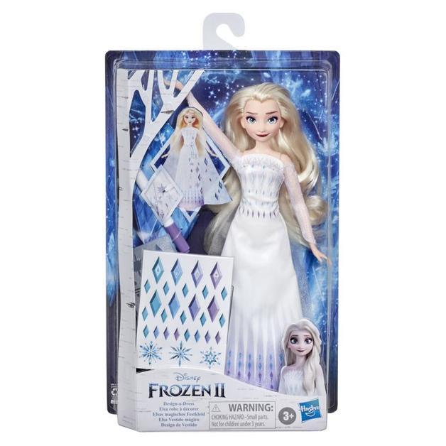 Frozen 2: Design-a-Dress Elsa - Fashion Doll