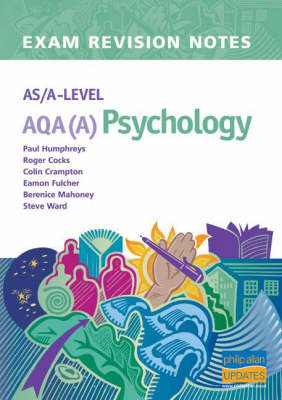 AS/A-level AQA (A) Psychology Exam Revision Notes by Paul Humphreys image