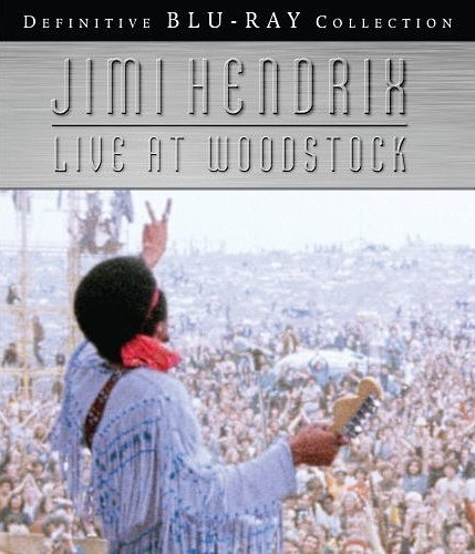 Jimi Hendrix: Live at Woodstock on Blu-ray