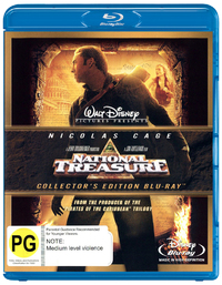 National Treasure on Blu-ray