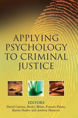 Applying Psychology to Criminal Justice image
