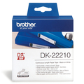 Brother DK-22210 Continuous Length Paper Label Tape (29mm x 30.48m)