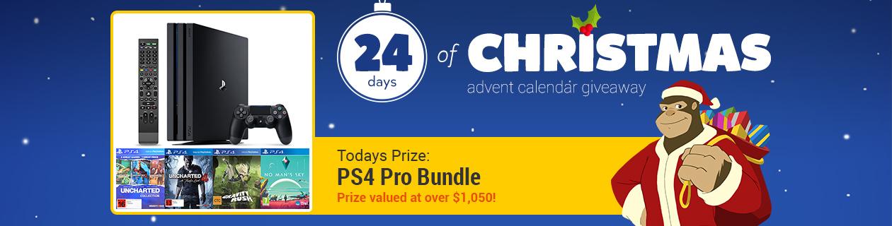 24 Days: PlayStation 4 Pro Bundle #3