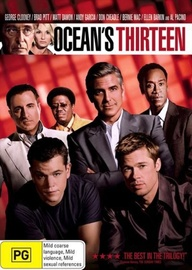 Ocean's Thirteen on DVD image