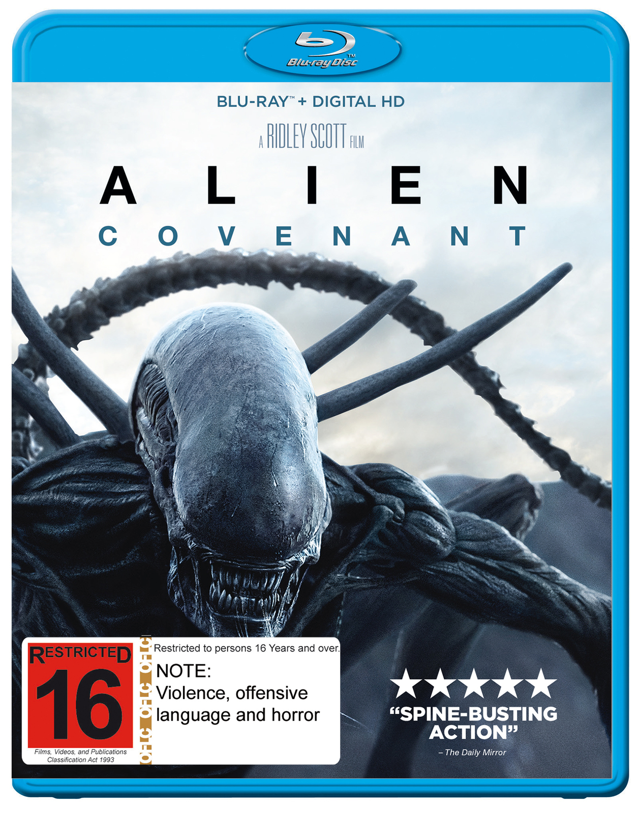 Alien Covenant Blu Ray