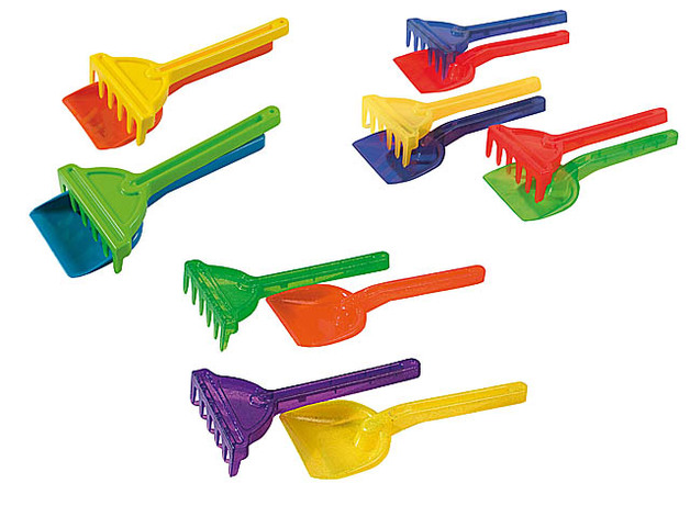 Androni: Summertime Spade/Rake 26cm - Assorted Colours