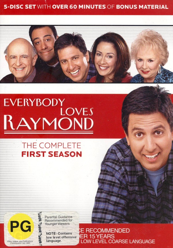 Everybody Loves Raymond - The Complete First Season (5 Disc Box Set) on DVD image