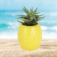 TrueZoo: Pineapple Planter - Yellow (Small)