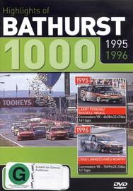 Highlights of Bathurst 1000 - 1995 / 1996 on DVD image
