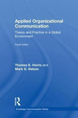 Applied Organizational Communication by Thomas E Harris image