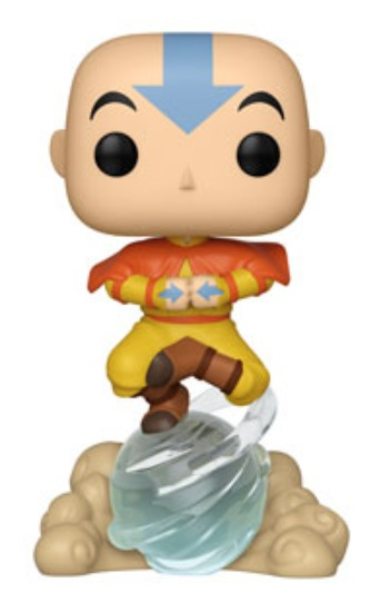Avatar - Aang (on Air-Scooter) Pop! Vinyl Figure (with a chance for a Chase version!) image