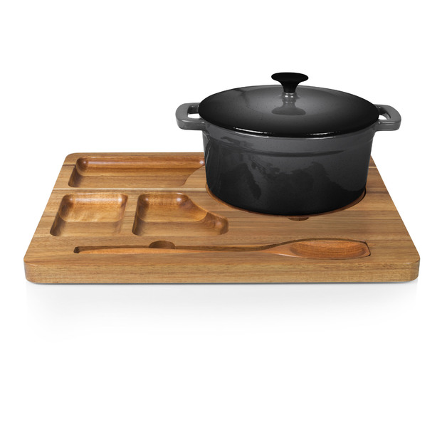 Picnic Time: Dutch Oven Serving Station