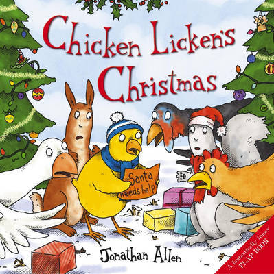 Chicken Licken's Christmas by Jonathan Allen image