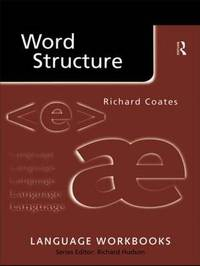 Word Structure by Richard Coates image