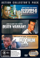 Action Collector's Pack (Double Impact / Death Warrant / Maximum Risk) (3 Disc Set) on DVD