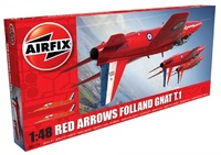 Airfix Red Arrows Folland Gnat T.1 1:48 Model Kit