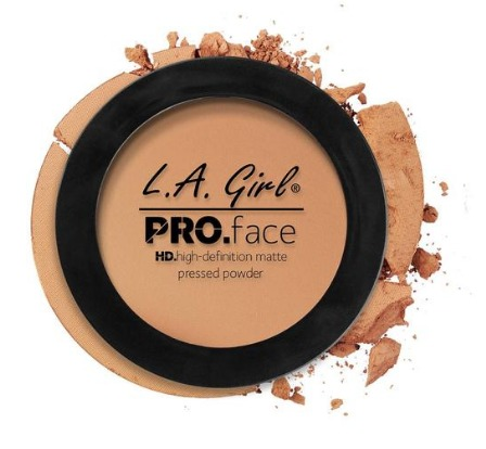LA Girl HD Pro Face Powder - Warm Honey image