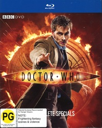 Doctor Who: The Complete Specials Collection on Blu-ray