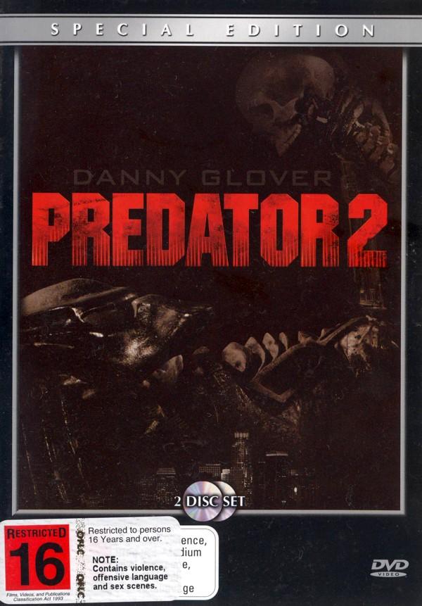 Predator 2 on DVD image