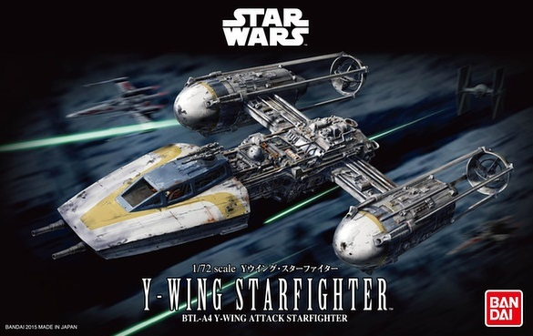 Star Wars: 1/72 Y-Wing Starfighter Model Kit