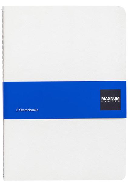 Magnum Photos: 3 Sketchbooks by Magnum Photos