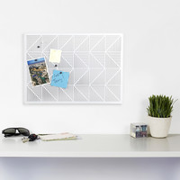 Trigon Bulletin Board (White)
