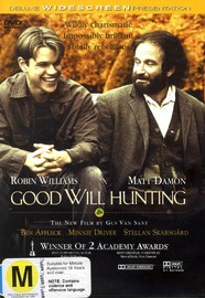 Good Will Hunting on DVD image