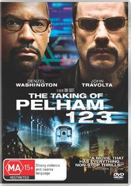 The Taking of Pelham 123 on DVD