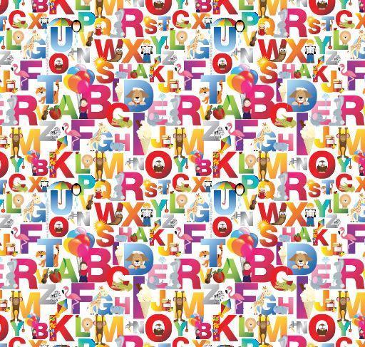 Little Shades: Window Shade - Alphabet Fun image