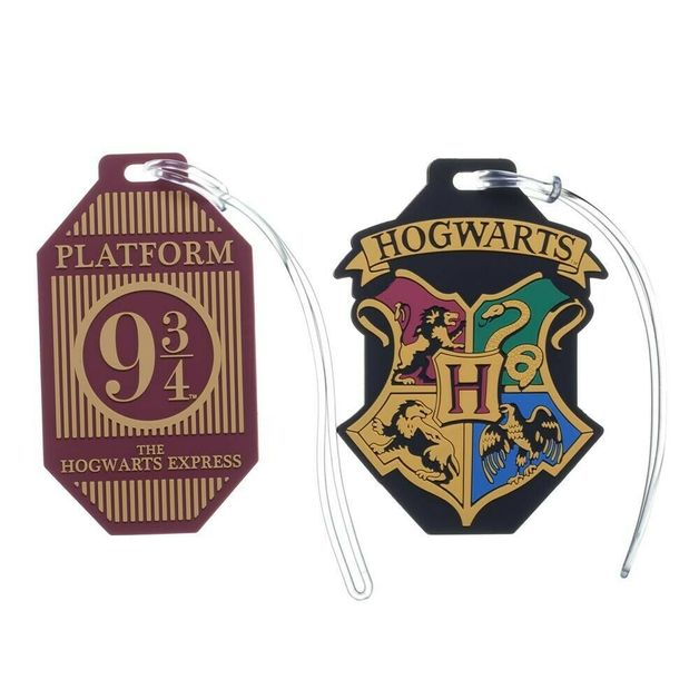 Harry Potter - Rubber Luggage Tag (Assorted Designs)