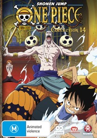 One Piece (Uncut) Collection 14 (Eps 170-182) on DVD